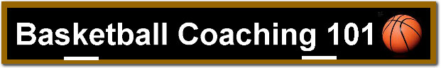 Basketball Coaching 101 banner.